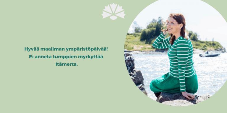 Ei anneta tumppien myrkyttää Itämerta
